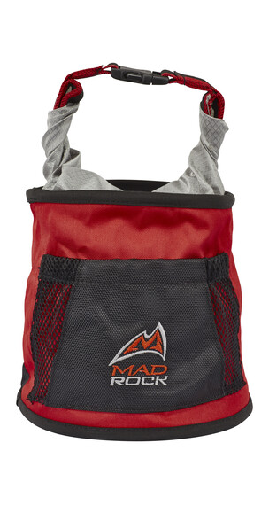 Mad Rock Chalk Pot Chalkbag redline